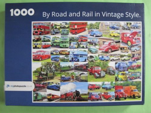 By Road & Rail in Vintage Style (1259)
