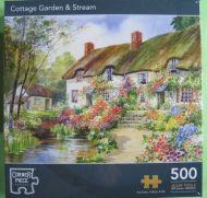 Cottage Garden & Stream (1736)