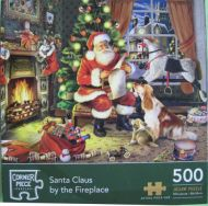Santa Claus by the Fireplace (2234)