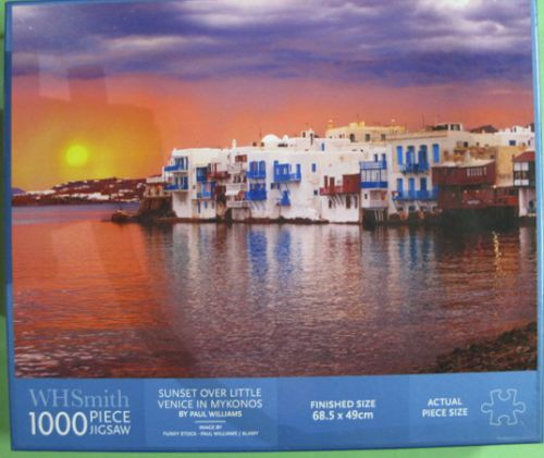 Sunset over Little Venice in Mykonos (2286)