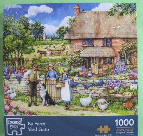 By Farm Yard Gate (2503)