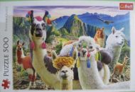 Llamas in the Mountains (2913)