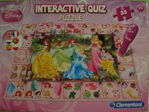Interactive Quiz Puzzle (599)