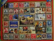 Presidential Stamps (714)